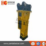 Caixa de silenciar o disjuntor de rocha hidráulicas para 19-26 toneladas (Escavadeira DYB800)