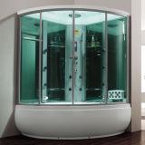 Simple de vidrio de Hidromasaje ducha de vapor (M-8272)