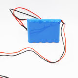 Li-ion LED del precio de fábrica 22.2V 2200mAh que enciende el paquete de la batería recargable