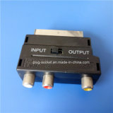 21의 핀 in/out 3RCA Plug (SP-019)