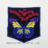 Оптовая торговля красочных бабочек Handwork хлопка этнических вышивка патч одежды для принадлежностей