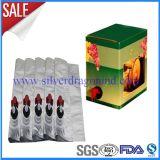 상자, 주스 또는 물 또는 정신 부대 의 액체 포장에 있는 5L 무균 알루미늄 부대