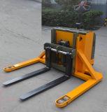 Электрический штабелеукладчик паллета с широкими ногами для паллетов 2-Стороны