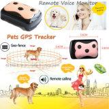 Traqueur de vente chaud d'animal familier de GPS avec la télésurveillance