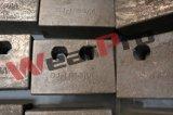Blocchetti/barre di usura del fornitore di Wearpro per protezione di usura della benna