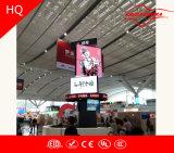 Affichage LED de la publicité de plein air en rotation