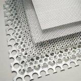 Folha Perfurada de alta qualidade/placa metálica perfurada (filtração/forro/crivo/decoration/isolamento de som)
