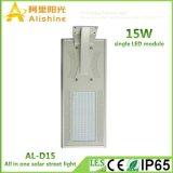 Il singolo modulo del LED ha integrato tutti in un indicatore luminoso di via solare con la parentesi del manicotto