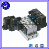 La serie 4V direccional neumático 3 posición 5 del puerto de la válvula de solenoide de control de aire eléctrico