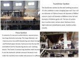 3600mm Kraft Flutig maquinaria de fabricación de papel ondulado 120 ton/día, la materia prima: Los desechos de papel, tejidos de junta