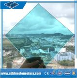 6.38mm bâtiment bleu avec sa propre usine de verre feuilleté