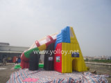 Hot Inflatable Slide with Water Pool