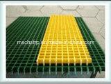 Высокопрочная ровная поверхностная сетка Grataings верхней части FRP квадратная, Sm40*40mm