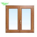 Fenêtre PVC couleur bois conçu par le fabricant expérimenté de la Fenêtre couleur bois PVC