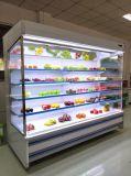 Affichage de boissons à la verticale de supermarché ouvert refroidisseur (GHF-20)