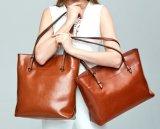 Hot Stylish Genuine Leather Handbag China Wholesale Cheap Shoulder Lady's Bag