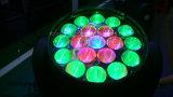 19X10W RGBW 4in1 Summen-Wäsche-bewegliches Hauptlicht