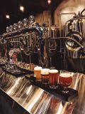 La bière au service des réservoirs en acier inoxydable