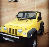 Zwart ABS VoorTraliewerk voor Jeep Wrangler Tj