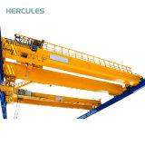 LH 3~20 Tonnen-anhebender Maschinerie-elektrischer doppelter Träger-Laufkran
