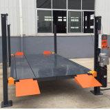 ガレージの駐車のための220V 4500kg 4の郵便車の上昇