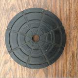 Твердая отлитая в форму резиновый пусковая площадка блока для автоматического подъема столба