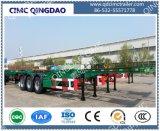 3 Vrachtwagen van de Aanhangwagen van het Skelet van de Chassis van de Container van de as de Semi