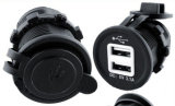 二重Car Motorcycleのための12V USB Adapter Power Charger Socket