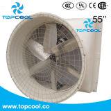 "Wand-Ventilator Gfrp 55 "" leistungsfähiges Ventilations-Lösungs-Molkereigerät"