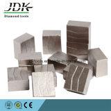 Het Segment van de diamant voor 3000mm het Blad van de Zaag van het In blokken snijden van het Graniet