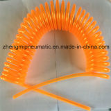 Flexible spiralé PU Transparent-Orange (ID*OD: 5*8mm)