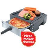 Multifunctionele Elektrische Grill, de Maker van de Pizza, Vleespennen