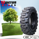 15-19.5 Neumático sin tubo del buey del patín, neumático para el cargador 15-19.5 del lince