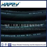 Trenzado textil en 854 3te la manguera de caucho hidráulico