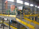 100-120mmの鋼片の連続鋳造機械生産ライン