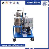 Acqua portatile dell'olio di trattamento di acque di rifiuto che separa macchina