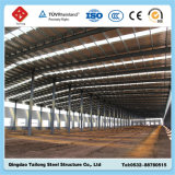 Aufbauende Stahlkonstruktion-Rahmen-Gebäude-vorfabrizierte Werkstatt