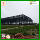 Magazzino prefabbricato della struttura d'acciaio della costruzione