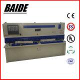QC12k Haz Oscilación hidráulica CNC Máquina de esquila de lámina metálica