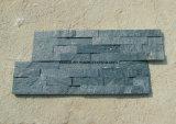 Natürliche Steinfurnier-blattkultur-Schiefer-Wand-Fliese für Dekoration