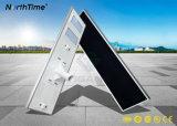 Réverbère solaire de la lampe DEL de module intelligent Integrated de 100W DEL