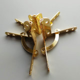 Quadrant coffret à bijoux en métal doré de la charnière Charnière pour boîte en bois