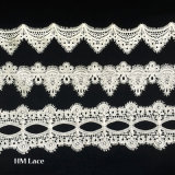 Merletto della guarnizione per il costume della tessile e l'abito di cerimonia nuziale, merletto Hml052 personalizzato nastro