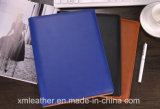 Кожаный тетрадь сочинительства повестки дня книги Excerise крышки