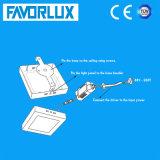 120X120mm 표면에 의하여 거치되는 6W LED 위원회 빛