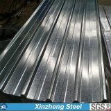 Strato d'acciaio galvanizzato ondulato del tetto, strato d'acciaio del tetto
