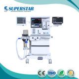S6600 el equipo de anestesia con CO2 concentrador y equipo de anestesia isoflurano vaporizador inhalación.