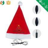 Meilleur Christmas Gift Earphone avec la MIC, Christmas Hats avec Music