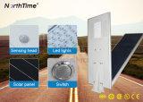 Réverbères solaires complets actionnés solaires de détecteur de détecteur de mouvement de Wirelss