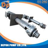 Pompe verticale de dragage de détritus de carter de vidange de boue de pompe